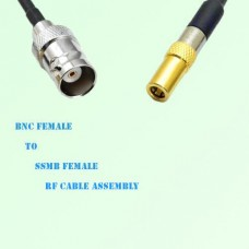 BNC Female to SSMB Female RF Cable Assembly