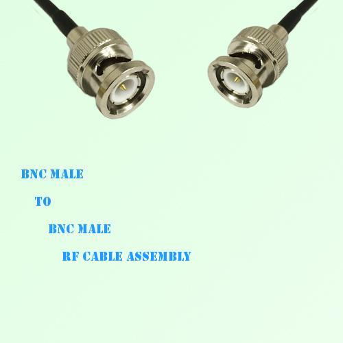 BNC Male to BNC Male RF Cable Assembly