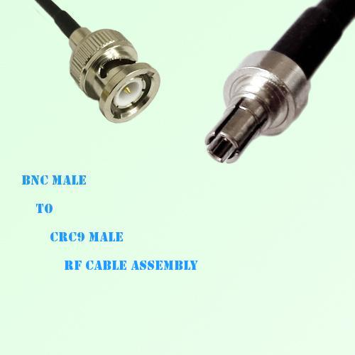 BNC Male to CRC9 Male RF Cable Assembly