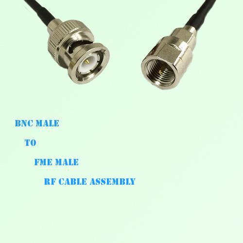 BNC Male to FME Male RF Cable Assembly