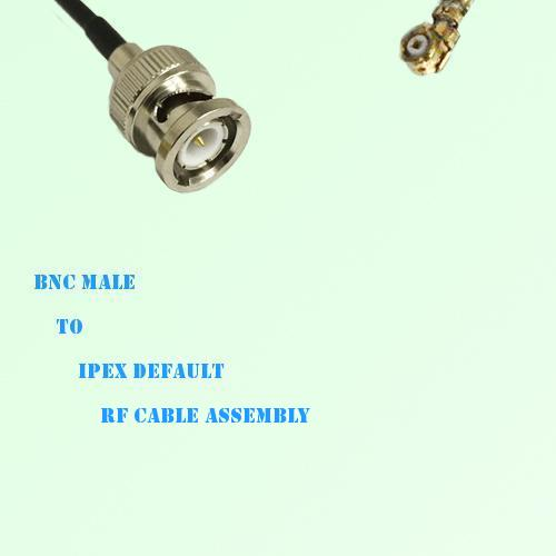 BNC Male to IPEX RF Cable Assembly