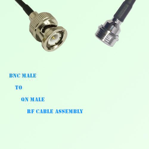 BNC Male to QN Male RF Cable Assembly