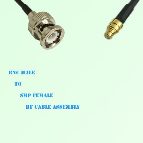 BNC Male to SMP Female RF Cable Assembly