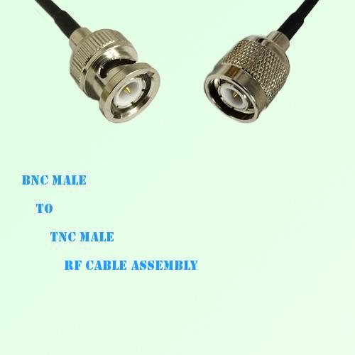 BNC Male to TNC Male RF Cable Assembly