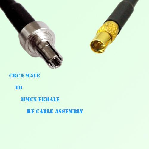 CRC9 Male to MMCX Female RF Cable Assembly