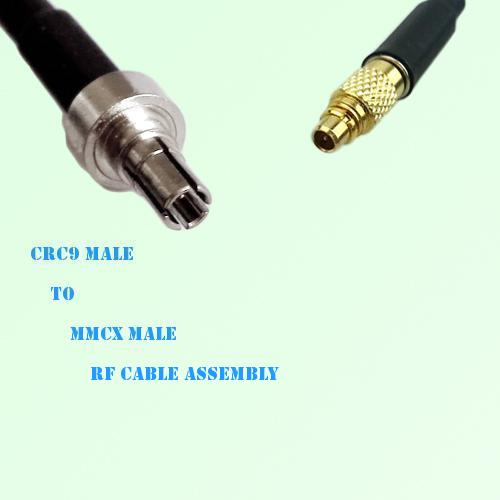 CRC9 Male to MMCX Male RF Cable Assembly
