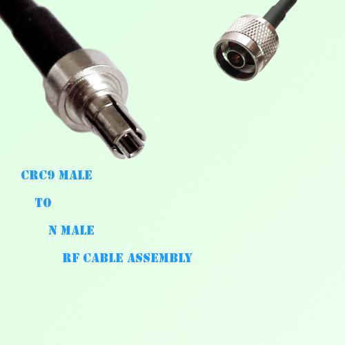 CRC9 Male to N Male RF Cable Assembly