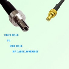 CRC9 Male to SMB Male RF Cable Assembly