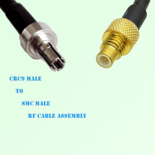CRC9 Male to SMC Male RF Cable Assembly