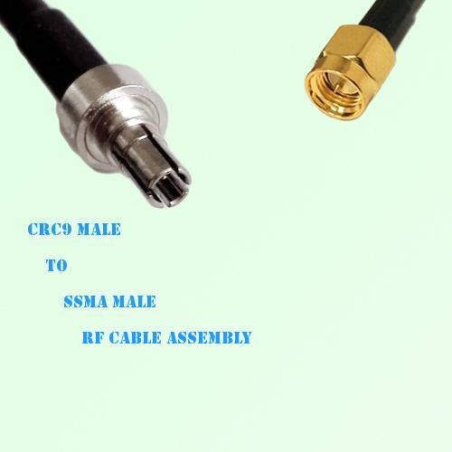 CRC9 Male to SSMA Male RF Cable Assembly
