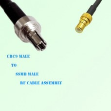 CRC9 Male to SSMB Male RF Cable Assembly