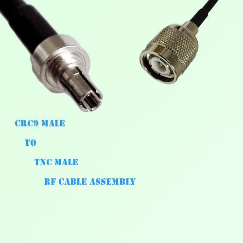 CRC9 Male to TNC Male RF Cable Assembly