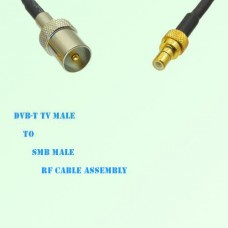 DVB-T TV Male to SMB Male RF Cable Assembly