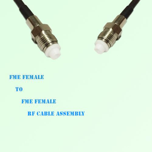 FME Female to FME Female RF Cable Assembly