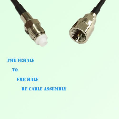 FME Female to FME Male RF Cable Assembly