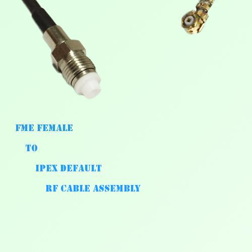 FME Female to IPEX RF Cable Assembly