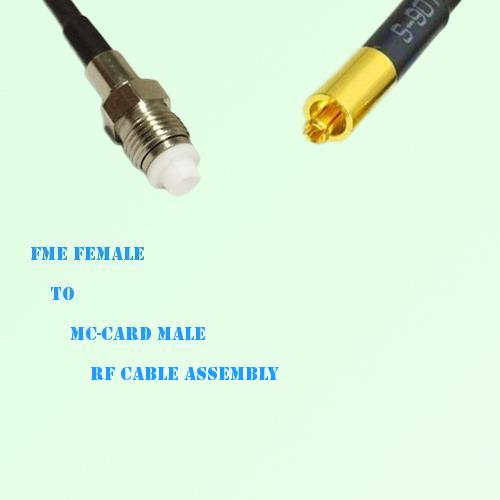 FME Female to MC-Card Male RF Cable Assembly
