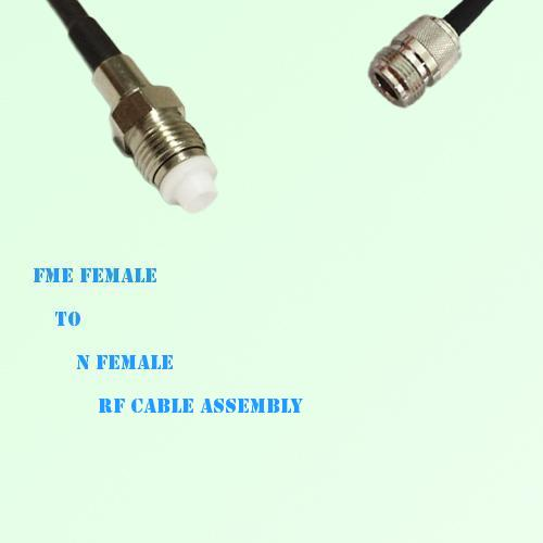 FME Female to N Female RF Cable Assembly