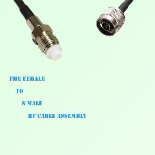 FME Female to N Male RF Cable Assembly