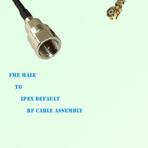 FME Male to IPEX RF Cable Assembly