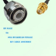 HN Male to SMA Bulkhead Female RF Cable Assembly