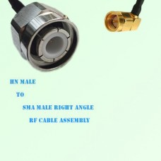 HN Male to SMA Male Right Angle RF Cable Assembly