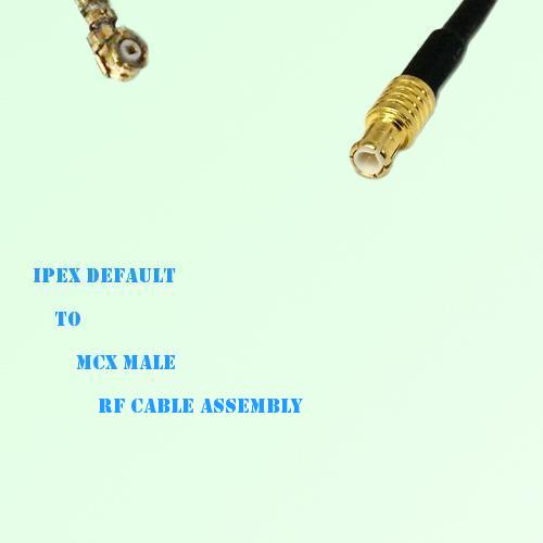 IPEX to MCX Male RF Cable Assembly