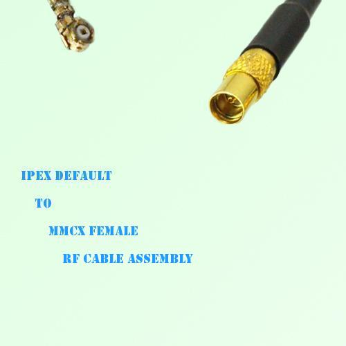 IPEX to MMCX Female RF Cable Assembly