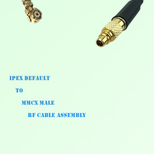 IPEX to MMCX Male RF Cable Assembly