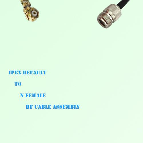 IPEX to N Female RF Cable Assembly