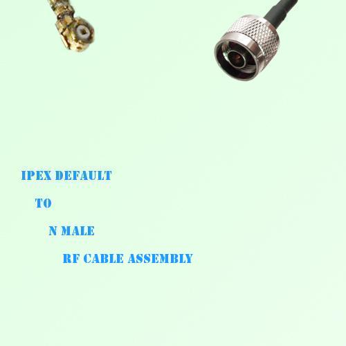 IPEX to N Male RF Cable Assembly