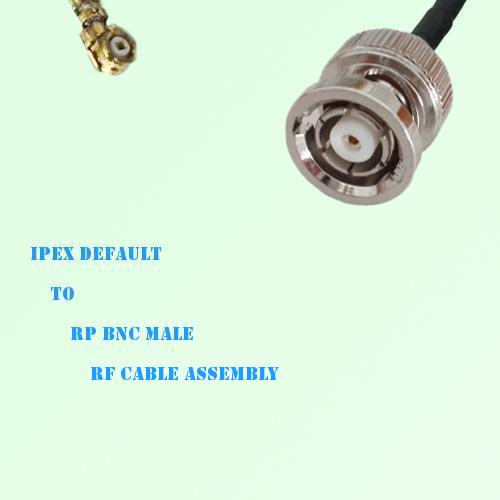 IPEX to RP BNC Male RF Cable Assembly