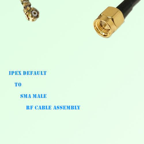 IPEX to SMA Male RF Cable Assembly