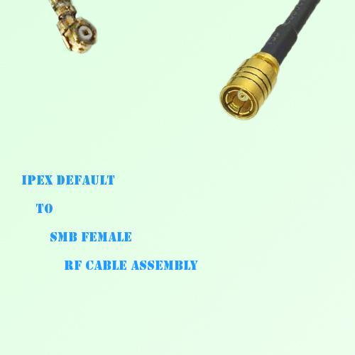 IPEX to SMB Female RF Cable Assembly