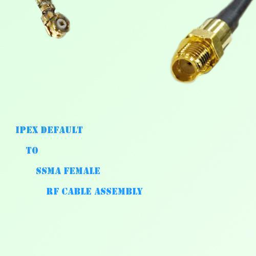 IPEX to SSMA Female RF Cable Assembly