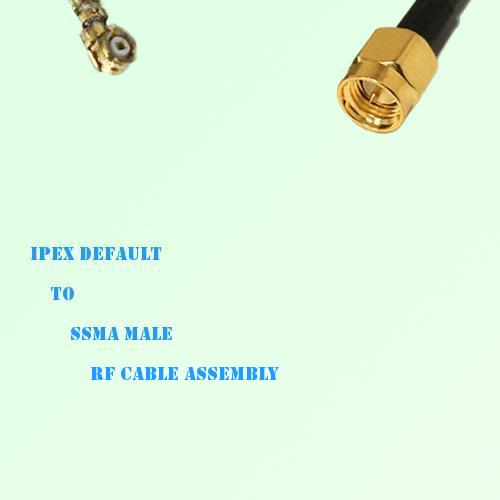 IPEX to SSMA Male RF Cable Assembly