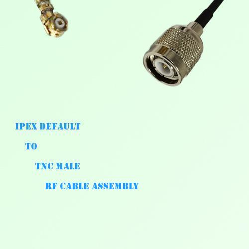IPEX to TNC Male RF Cable Assembly