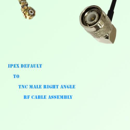 IPEX to TNC Male Right Angle RF Cable Assembly