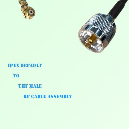IPEX to UHF Male RF Cable Assembly