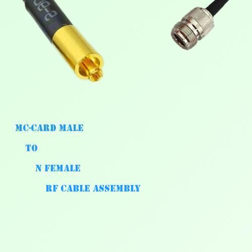 MC-Card Male to N Female RF Cable Assembly