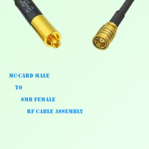 MC-Card Male to SMB Female RF Cable Assembly