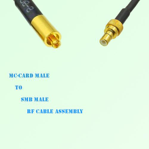 MC-Card Male to SMB Male RF Cable Assembly