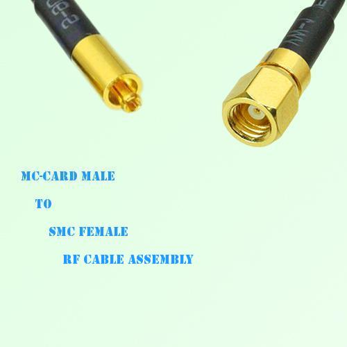 MC-Card Male to SMC Female RF Cable Assembly