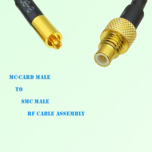 MC-Card Male to SMC Male RF Cable Assembly