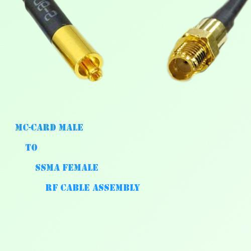 MC-Card Male to SSMA Female RF Cable Assembly