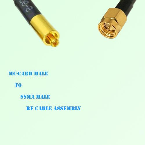 MC-Card Male to SSMA Male RF Cable Assembly