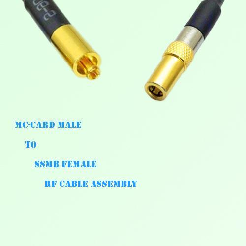 MC-Card Male to SSMB Female RF Cable Assembly