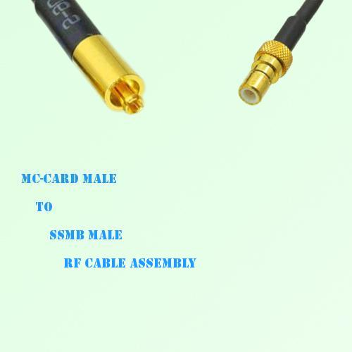 MC-Card Male to SSMB Male RF Cable Assembly