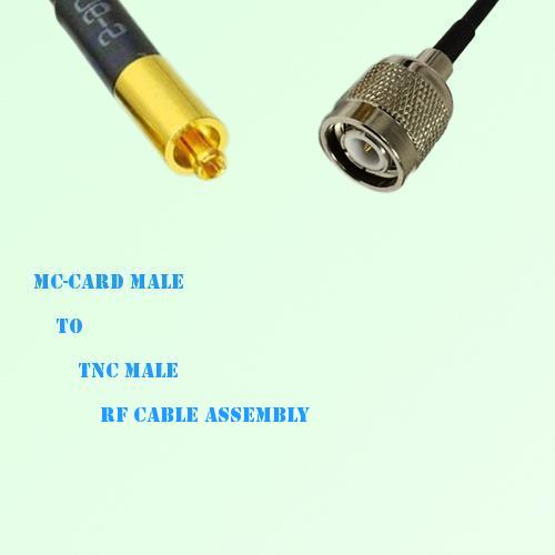 MC-Card Male to TNC Male RF Cable Assembly