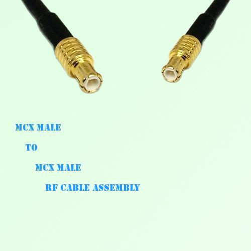 MCX Male to MCX Male RF Cable Assembly